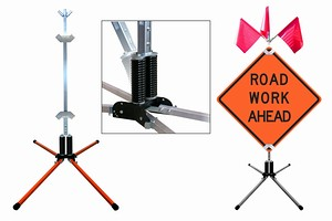 DynaLite Non-Spring Sign Stand